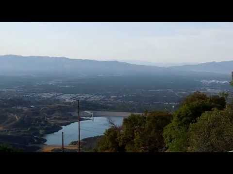 The Best Panoramic View of Los Angeles & San Fernando Valley from Nike Missile Site
