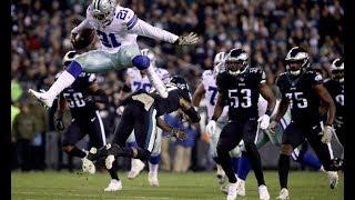 Zeke Elliott hurdles and embarrasses opponents