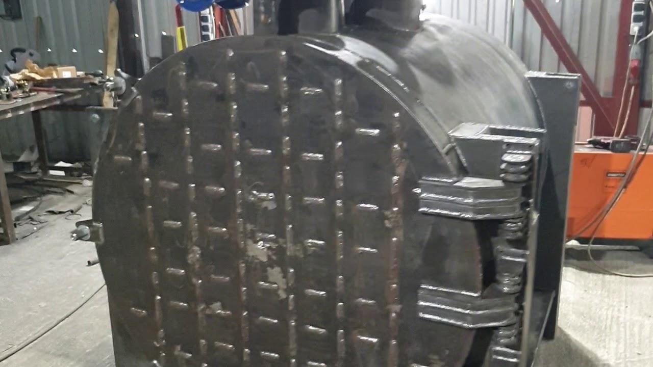 Парогенератор НовоПар на отработанном масле 200 кг пара в час