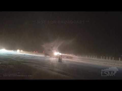 11-25-19 Fort Collins Co- Winter Storm Dorothy-2 Inch Or Hr Snow-Slide Offs-Snow Plows-White Out