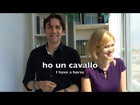 "Learn Italian - Basics for Beginners: The verb ""AVERE"" (To Have)"
