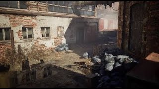 Abandoned Factory Environment_RealityCapture & Unreal Engine 4