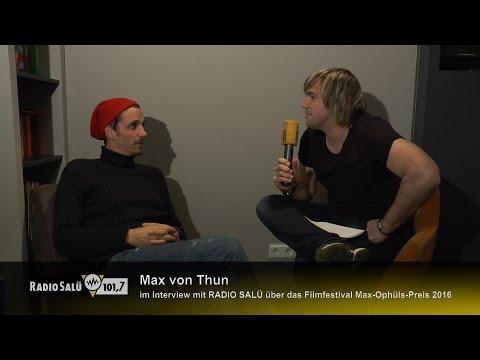 Interview mit Max von Thun über das Max Ophüls Filmfestival 2016