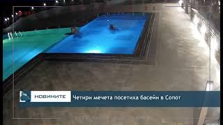 Четири мечета посетиха басейн в Сопот