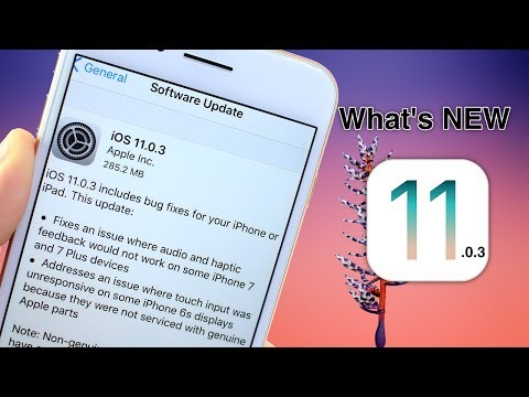 iOS 11.0.3 is out here