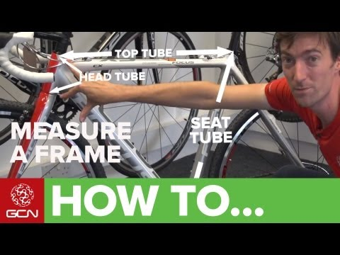 Road Bike Fit - How To Measure A Bike Frame