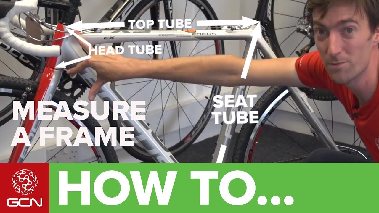 Road Bike Fit - How To Measure A Bike Frame - YouTube
