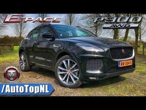 Jaguar E Pace P300 R Dynamic Review by AutoTopNL (English Subtitles)