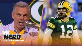 Colin's solution to Aaron Rodgers-Packers drama, Sam Darnold's future in Carolina | NFL | THE HERD