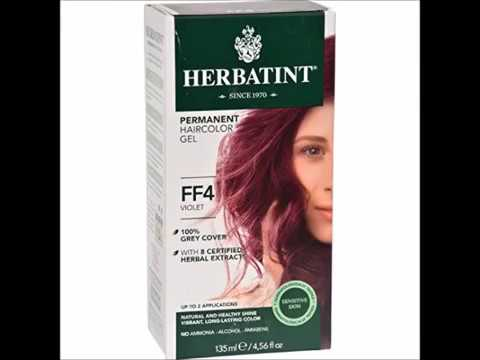 Herbatint Hair Colorviolet Ct Youtube