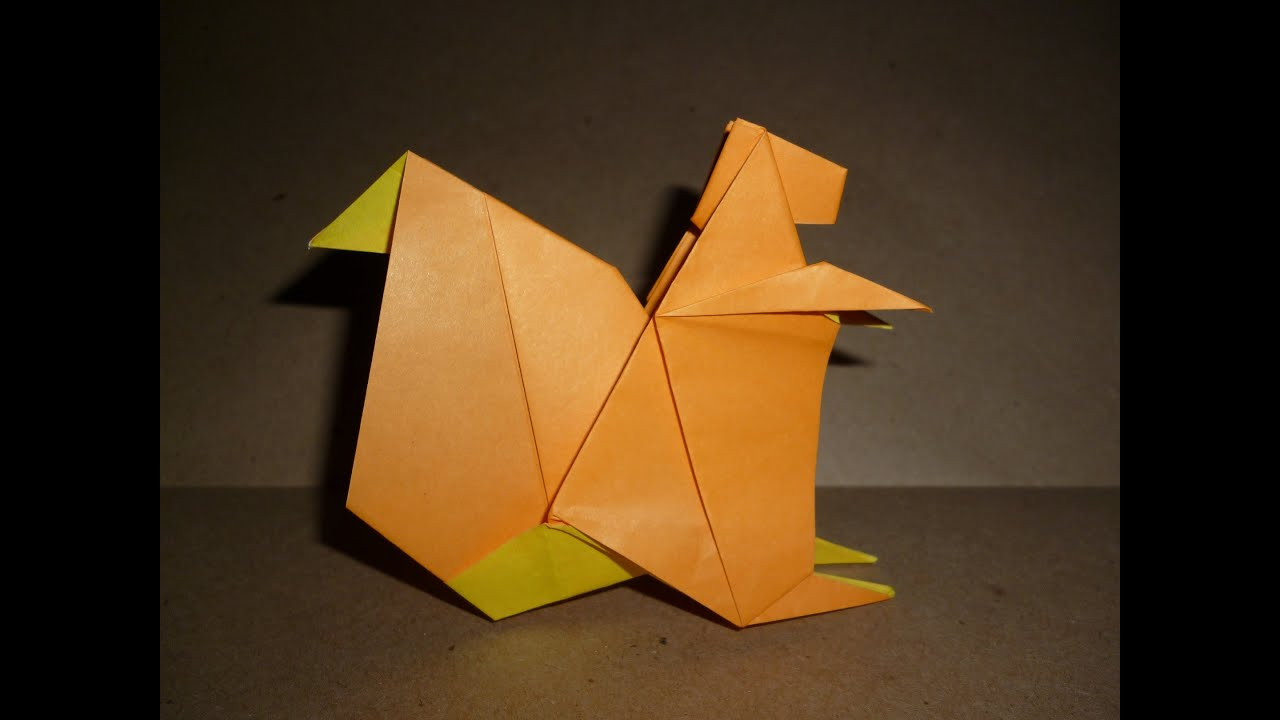 Origami squirrel instructions frantisek grebencek youtube origami squirrel instructions frantisek grebencek jeuxipadfo Choice Image