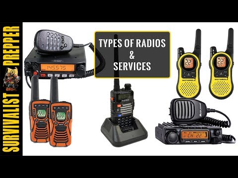 Radios and Comms for Preppers: GMRS, MURS, FRS, and Ham