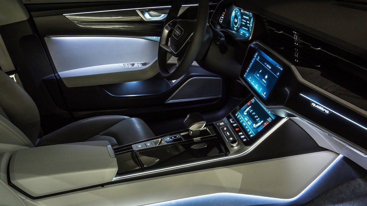 2018 Audi A7 >> 2018 Audi A7 Sportback Interior Youtube