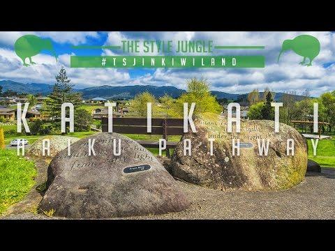 Парк с японскими стихотворениями /// Katikati Haiku Pathway