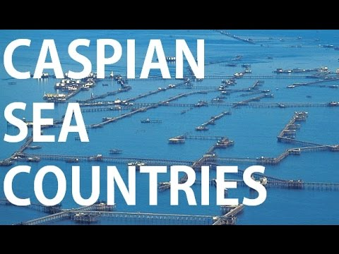Caspian sea | Countries