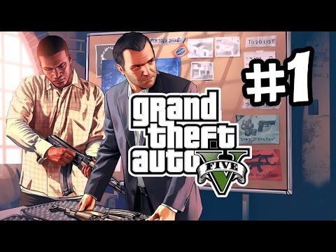 Grand Theft Auto V [#1]-[HD] Хайде на мисията :Д