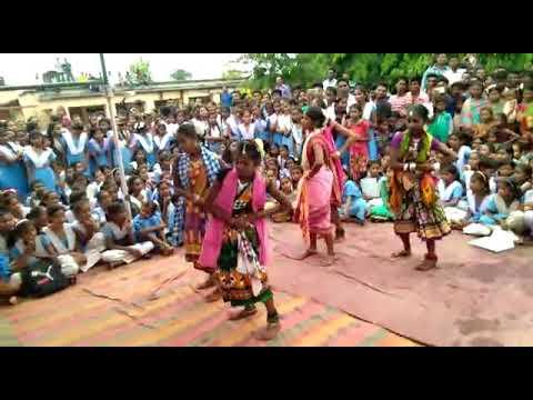 Kalahandir kure phula dance (DB High School,Dadpur)
