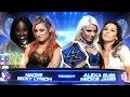 WWE SmackDown Live 2017.01.31 Becky & Naomi vs Alexa & Mickie