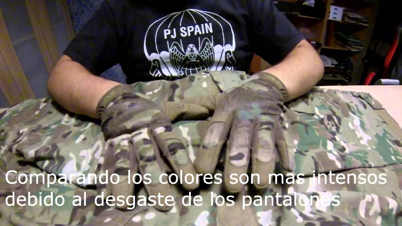 Peque/ño, Camuflaje Mechanix MultiCam Original Guantes Mechanix Wear