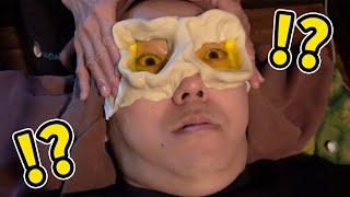 目の中にバター流し込んだら大変なことにwww