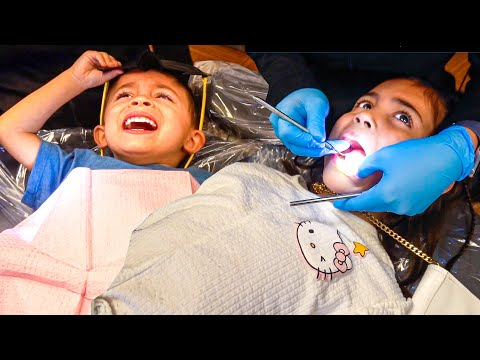 THE DENTIST HAS SOME SURPRISING NEWS FOR AVA AND JAYDEN...
