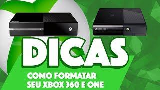 COMO FORMATAR SEU XBOX 360 E ONE