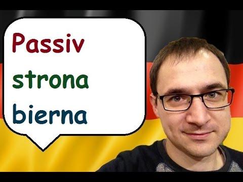 Passiv - strona bierna - Język niemiecki - gerlic.pl