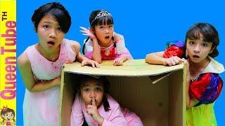Disney Princess Tea Party Kids Pretend Play ปาร์ตี้น้ำชา เจ้าหญิงดิสนีย์  กับพี่บรีแอนน่า เฌอแตม