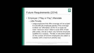 Alliance Payroll Services: Affordable Care Act Updates Webinar