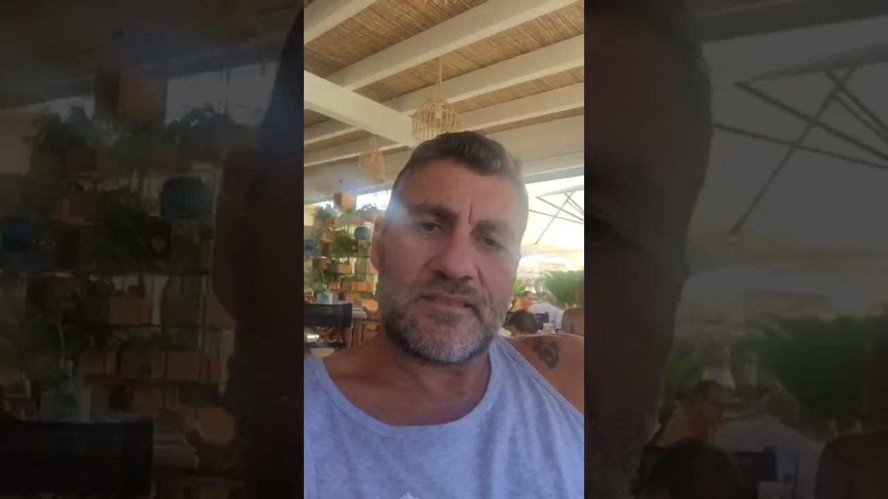 Christian Vieri ai Bagni Fantini di Cervia! - YouTube