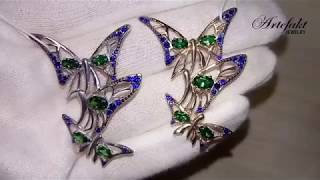Обзор серебряной броши Artefakt Jewelry арт 975
