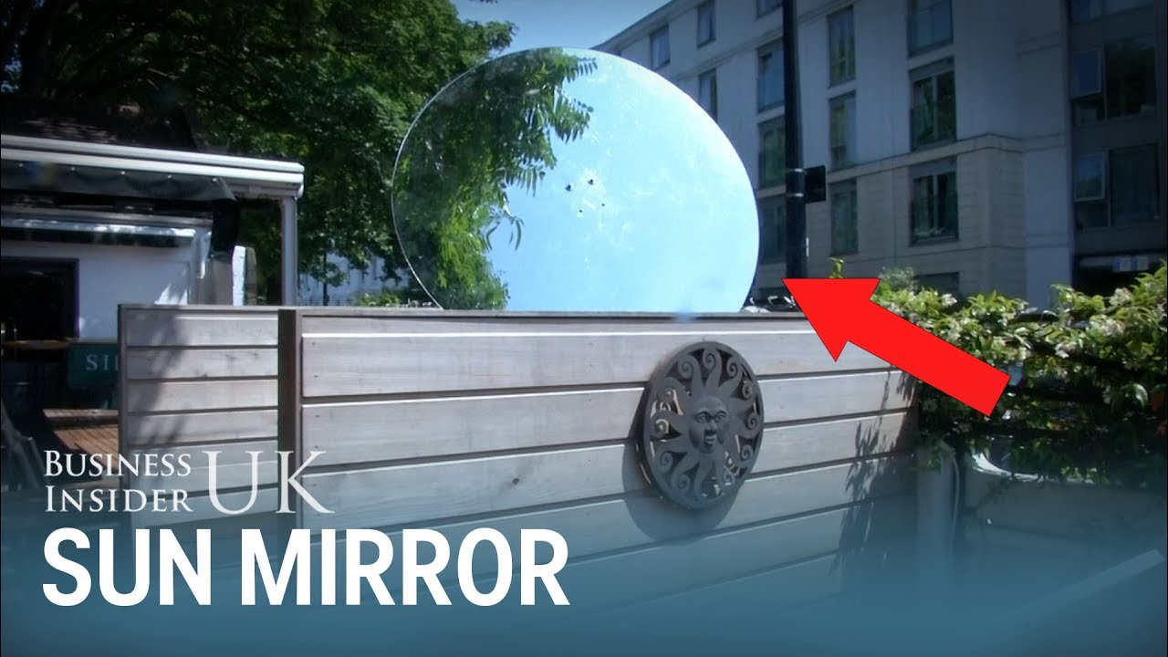 This Rotating Mirror Is Designed To Give You More Sun In