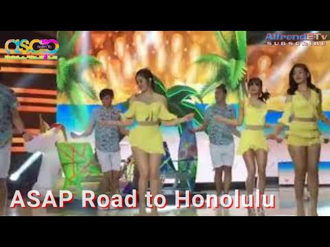 Janella Salvador opening prod with Loisa & Maris (ASAP Road to Honolulu)