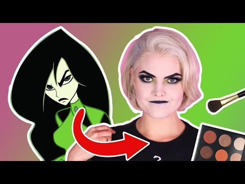 [MAKEUP TUTORIAL!!!!] How to become Shego From Kim Possible!!! thumbnail