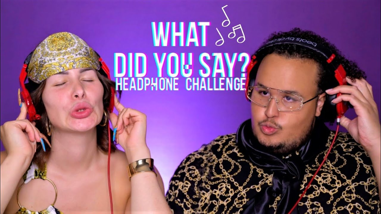 Er will mir in den Rachen FURZEN?🤮Kopfhörer Challenge mit @Qingbabyjey