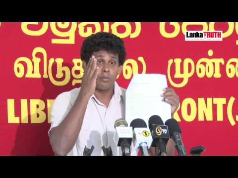 Wasantha exposes foreign ministry's LTTE dealings