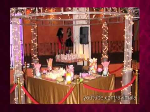 Mesa de dulces snack candy bar fiesta 15 a os d for Mesa de dulces para xv anos