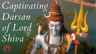 Haridwar Kumbh 2021 | Darsan of Lord Shiva on the banks of Ganga river from top view