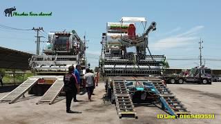 แข่งทางเรียบ ไทยเส็ง VS ศิษย์เจริญ (เล่นกันขำๆครับ) สนามเทพนคร พลพรรคคนรักชบา combine harvaster
