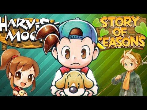 El conflicto de Harvest Moon y Story of Seasons