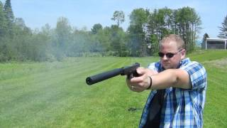 Glock silencer weapon test