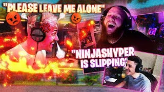 NINJASHYPER HAS RETURNED!! FT. NINJA, MYTH & MONSTCR
