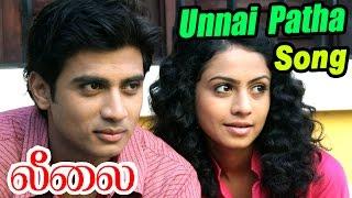 Leelai Tamil Movie | Scenes | Unnai patha pinbu video song | Shiv Pandit, Manasi, santhanam, Sathish