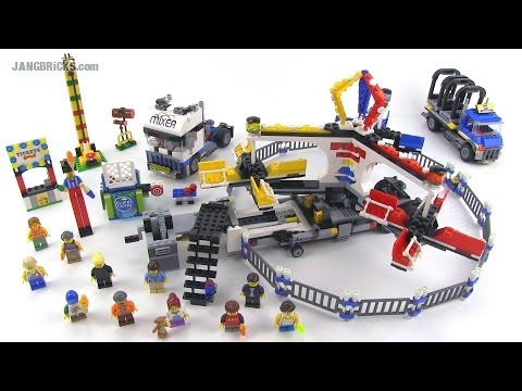 LEGO Creator 10244 Fairground Mixer Review! Summer 2014 - YouTube