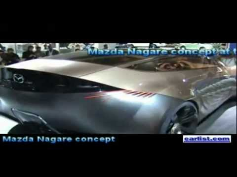 Franz Von Holzhausen, Director of Design,  talks about the Mazda Nagare (Flow) concept vehicle