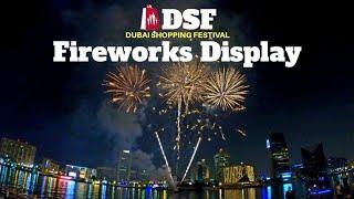 DSF Kicks Off With A Spectacular Fireworks Display   Dubai Shopping Festival 2020 - 2021