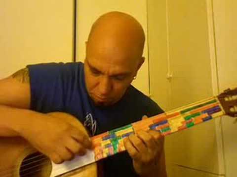 Ouami for harmonic series guitar by Dante Rosati