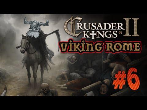 Crusader Kings 2 Reapers Due - Kungen över Italien - Viking Rome - 6 Svenska