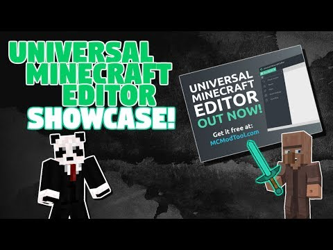 Universal Minecraft Editor Showcase! - Modded Villagers, Modded Inventory, Modded Map, And More!