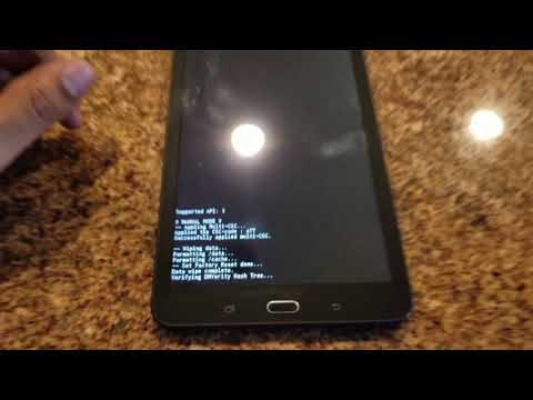 How to Unlock Samsung Galaxy Tab E SM-T561 Locked By NTTF